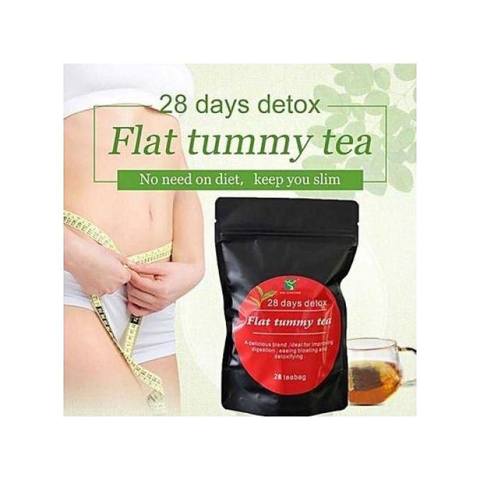 Flat Tummy Tea Slimming 28 Days Detox Flat