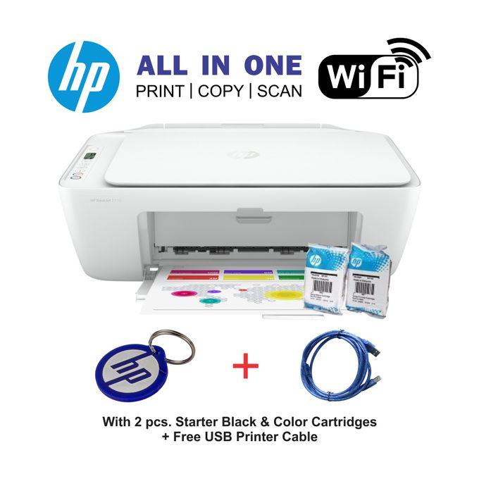 HP DeskJet 2710 - All-in-One WIRELESS Printer