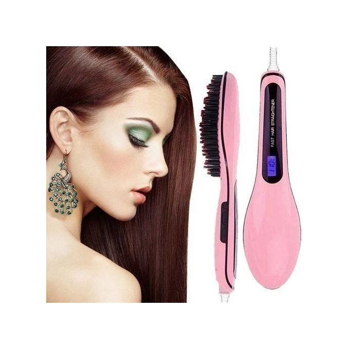 Generic Professional Hair Straightener Comb Brush