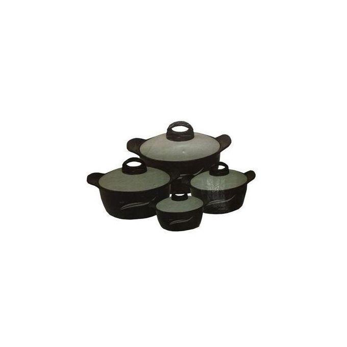 4 Piece Hot Pot Food Server