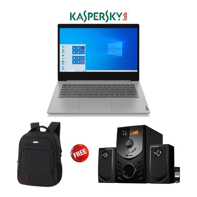 Lenovo Ideapad 3-Intel Celeron-1TB HDD-4GB RAM-Windows 10-Kaspersky-Grey+Free Bag+Woofer