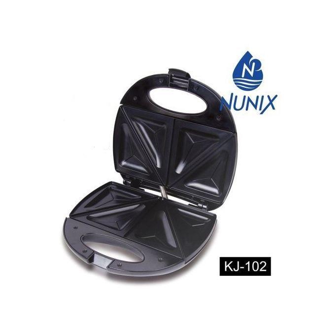 Nunix KJ-102 - Sandwich Maker - Black