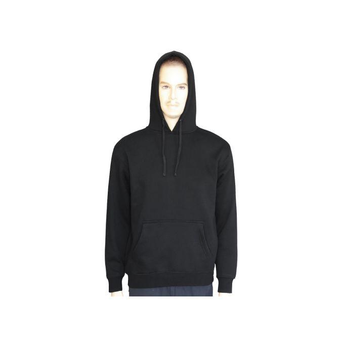 AIRBORNE Swrakng Kangaroo Hooded Sweatshirt With Draw String On Hood