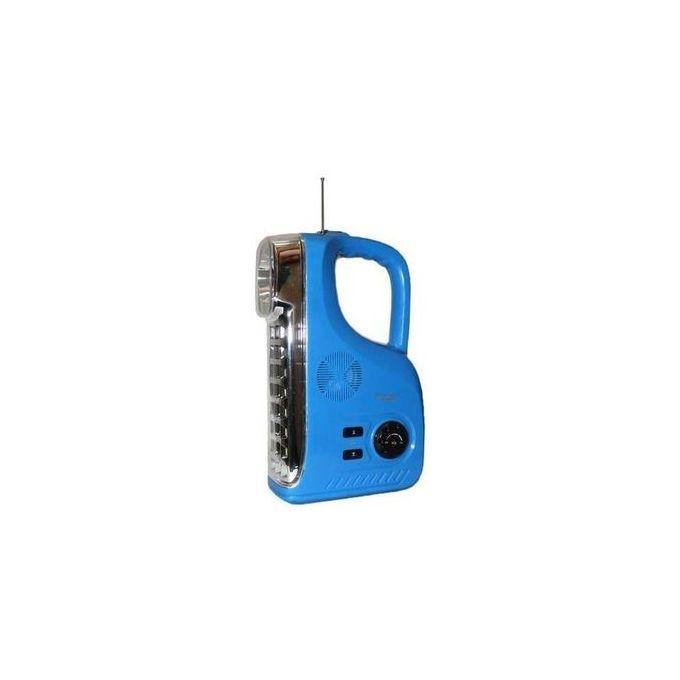 Kamisafe Emergency Rechargeable LED Lamp With Radio