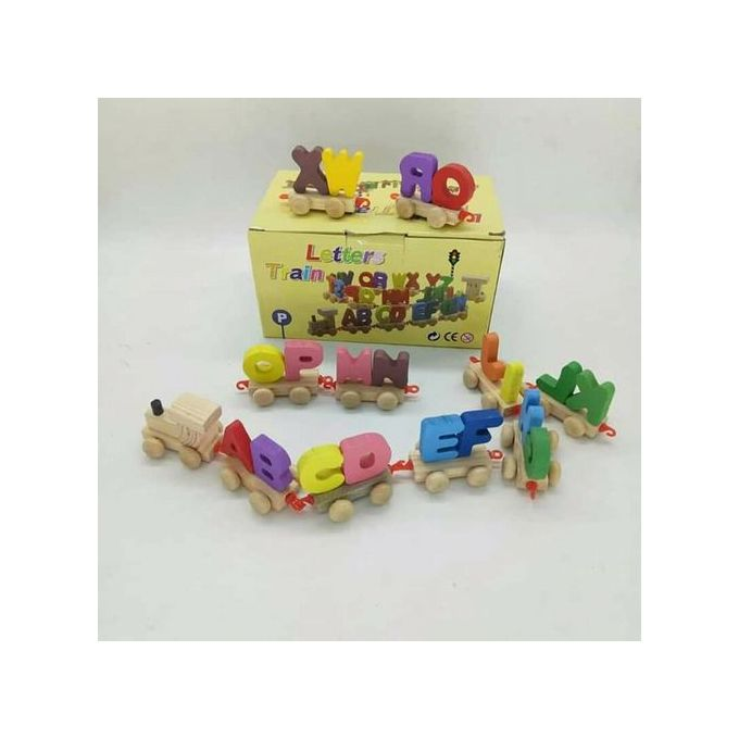 Letter train game