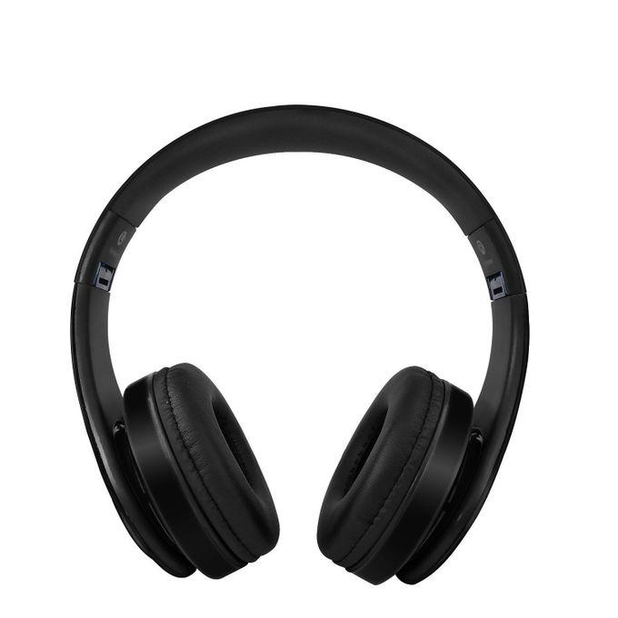 M Luck BLACK Bluetooth Headphones