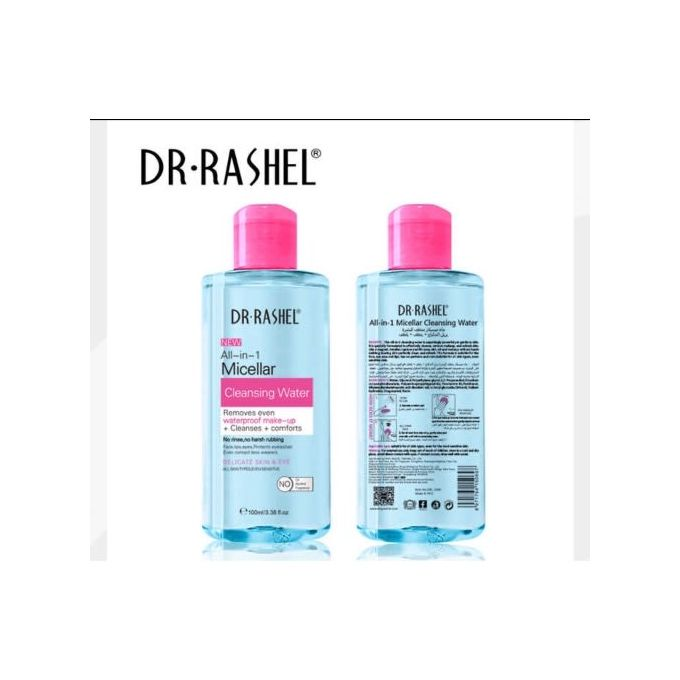 Dr. Rashel All in 1 Micellar Cleansing Water Makeup Remover 300ml