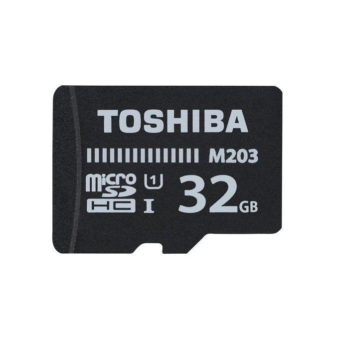 Toshiba Memory Card TF With Adapter - 32GB - Black