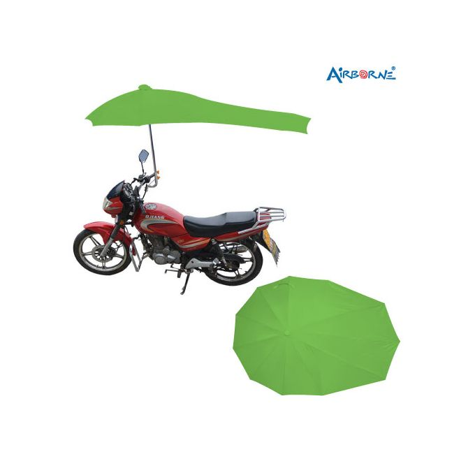 AIRBORNE Motor Cycle Umbrella High Quality - Green