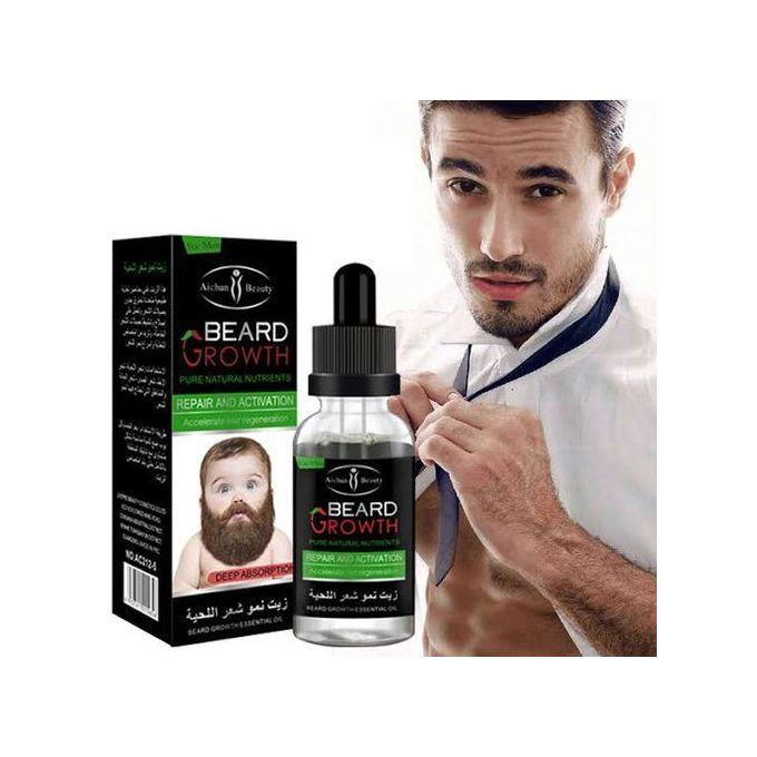 Beard Growth Beard & Moustache Fast Growth Oil - 30ml