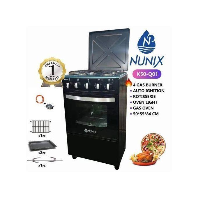 Nunix 4 burner cooker