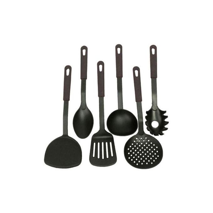Generic 6 Piece Non-Stick Cooking Spoons Set