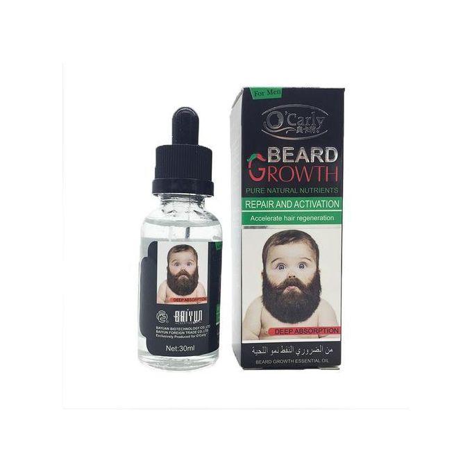 O'Carly Beard Growth Oil - 30ml
