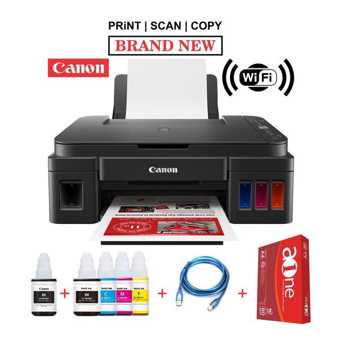 Canon PIXMA G3411-Wirelessly Print, Copy, Scan+Rim