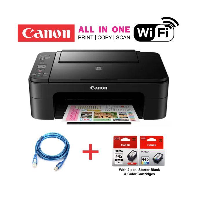 Canon PIXMA TS3140 - Wirelessly Print, Copy & Scan-Black