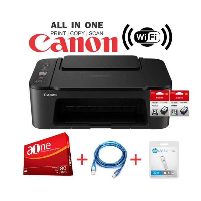 Canon PIXMA TS3440-Wirelessly Print,Copy&Scan+Rim+32GB