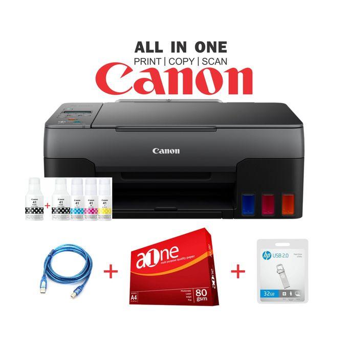 Canon PIXMA G2420 - Print, Scan & Copy -Black+Rim+32GB
