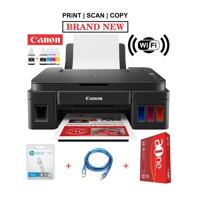 Canon PIXMA G3411-Wirelessly Print,Copy,Scan+Rim+32GB