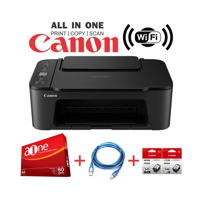 Canon PIXMA TS3440 - Wirelessly Print, Copy & Scan+Rim