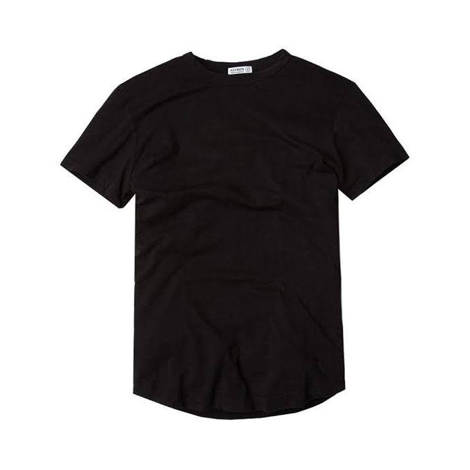Plain T-shirts black Black medium