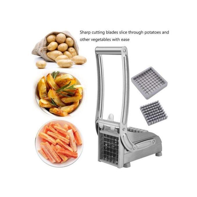 Generic Fries/Chips Cutter- Stainless Steel Potato Chopper Chipser