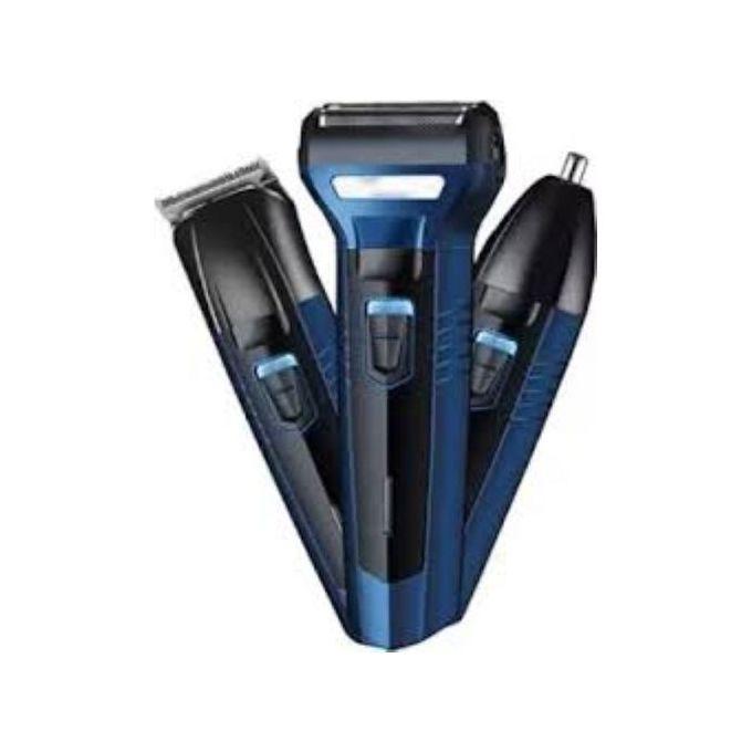 Progemei 3 in 1 - Electric Hair shaver/ trimmer/ clipper - GM-566
