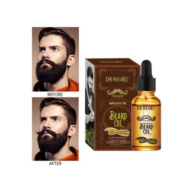 Dr. Rashel Beard Growth Oil Argan Oil For Men - 30ml