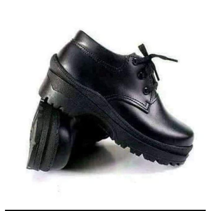 Fashion Geniune School Shoes Leather