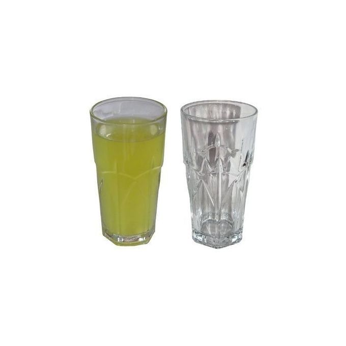 Generic Transparent Drinking Glasses Set(6) For Cold/Warm Drinks
