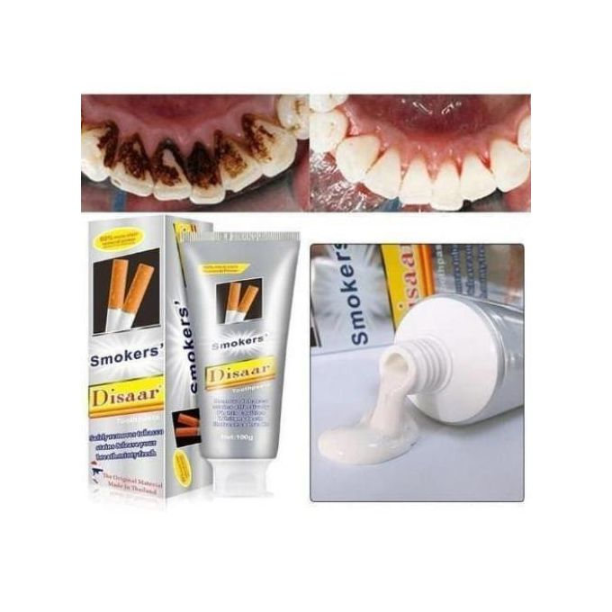 Disaar Smoke Stains Removal And Toothpaste