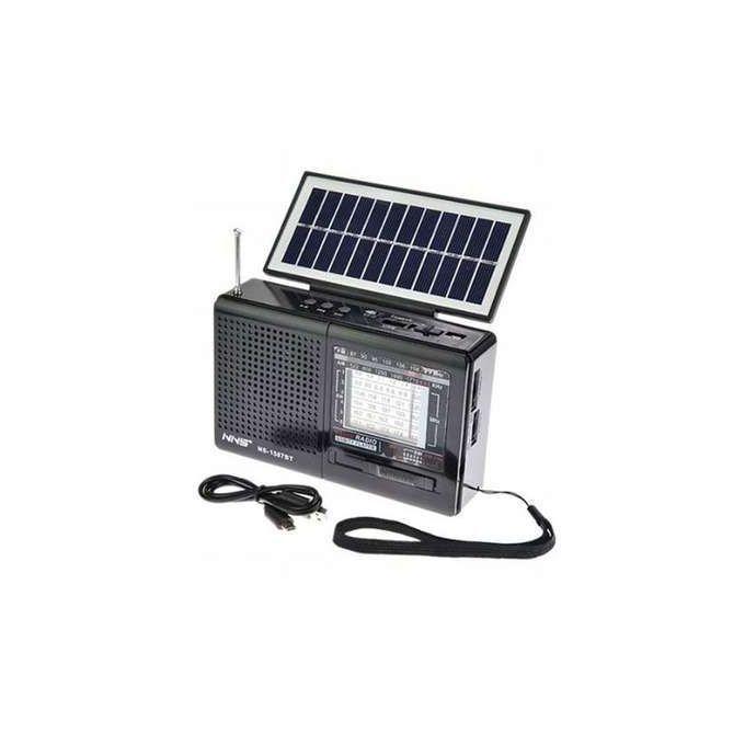 Portable Solar FM Radio