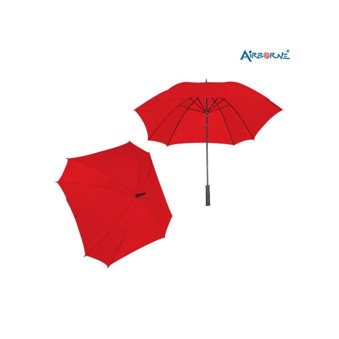 AIRBORNE Standard 8 Panel Umbrella - Red