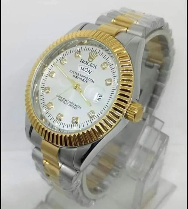 Two tone Day date Rolex