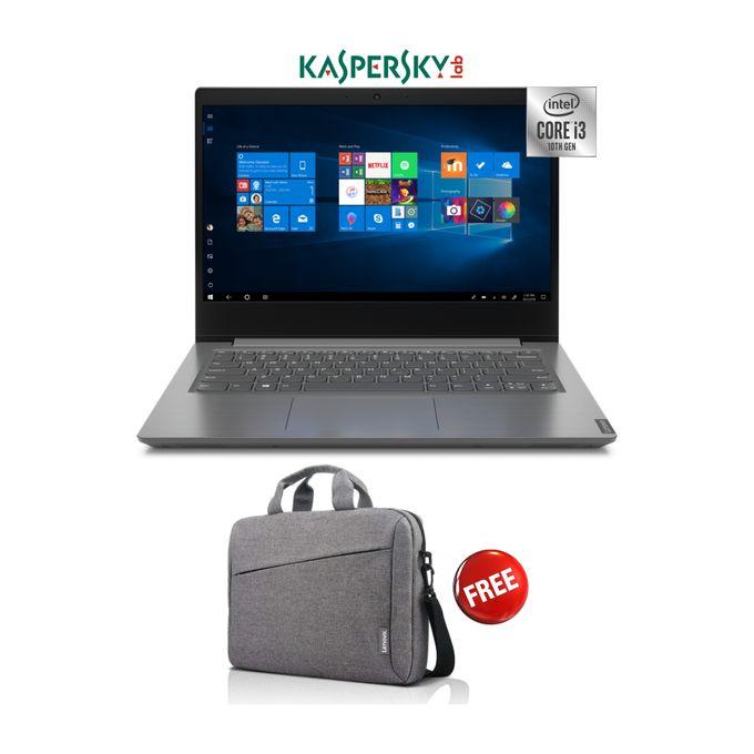 Lenovo V14 - 10th Gen Intel Core I3 - 1TB HDD - 4GB RAM - Windows 10 -Kaspersky - Grey-Free LBag