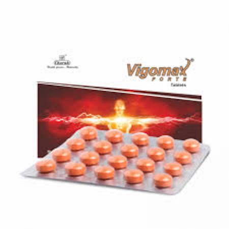 Vigomax Forte Tablet - 20 Tablets Orange Pills