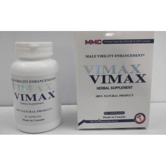 Vimax 60 Herbal Supplement Pills