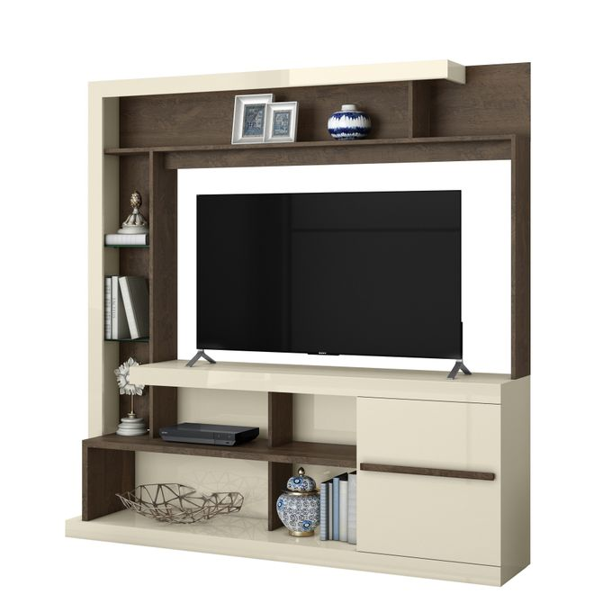 Belaflex TV Wall Unit Home Tulum - Up To 55 Inch TV Space