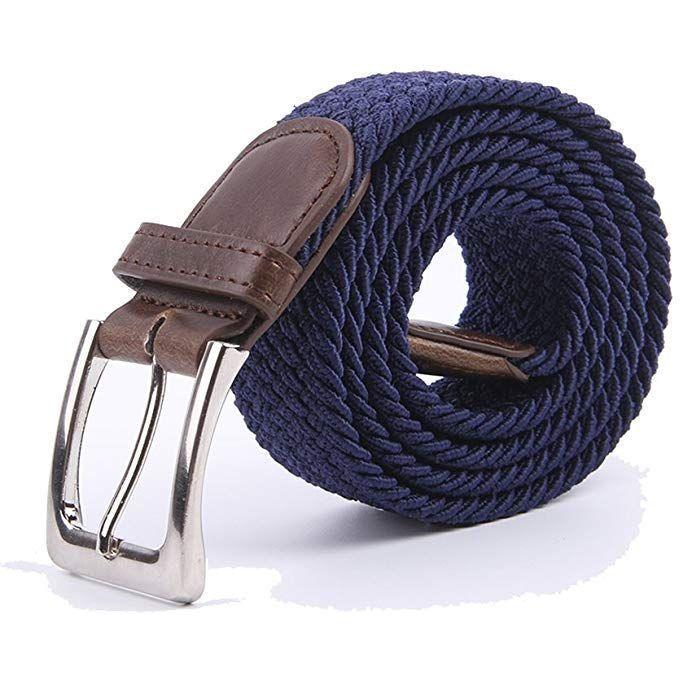 Fashion Canvas Elastic Woven Belt