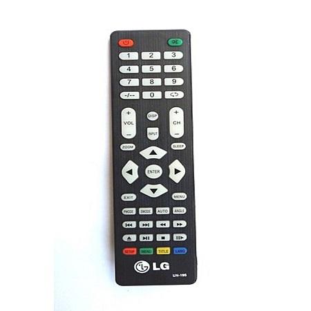 LG LED TV UNIVERSAL Remote Control - Black
