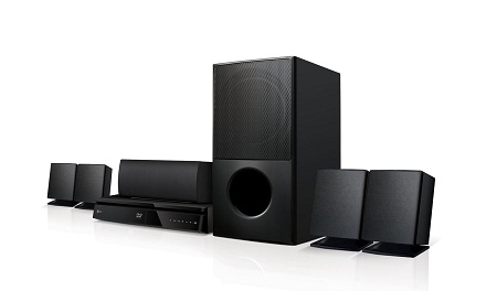 LG LHD627 - 1000W RMS 5.1ch DVD Home Theater System