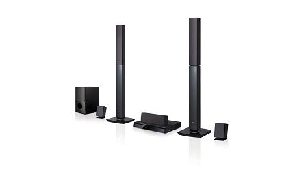 LG LHD647 - 1000W RMS 5.1ch 2TB DVD Home Theater System