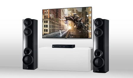 LG LHD677 1000W 4.2Ch DVD Sound Tower Home Theatre System
