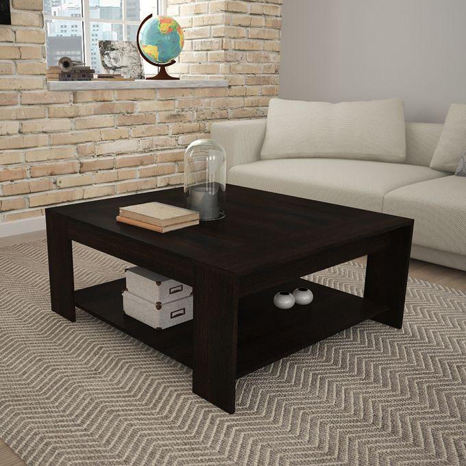 Tecno Mobili Coffee Table - Black-Brown (tobbaco)