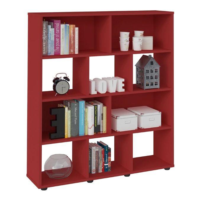 Artely Bookshelf Rack Book - Red