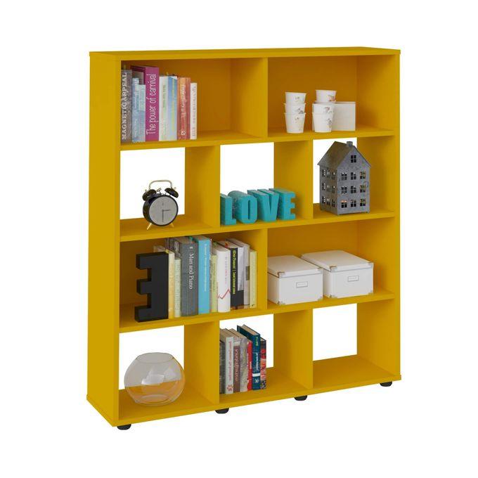 Artely Bookshelf Rack Book - Yellow