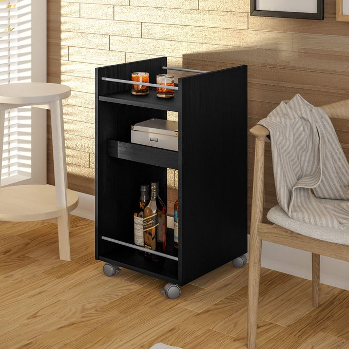 Artely Brito Bar Cart - Black