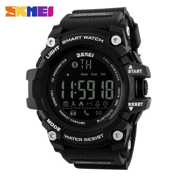 Skmei 1227 50m Waterproof Digital Smart Watch