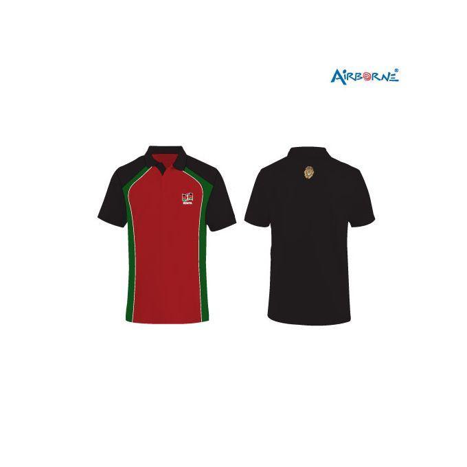 AIRBORNE Boys Rugby Polo Design - Multicolor