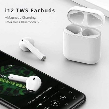 Generic I12TWS Sport Wireless Bluetooth Earphone Earbuds