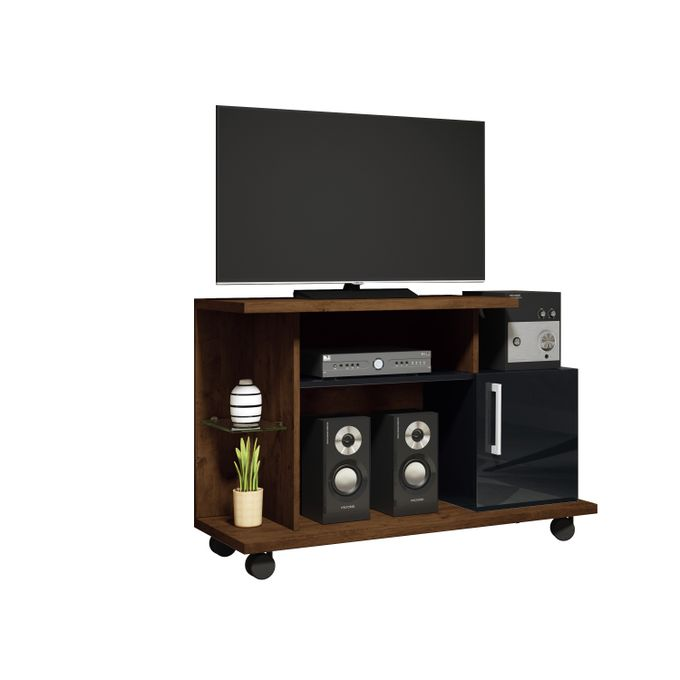 HB Móveis TV STAND SMART - CANYON/BLACK